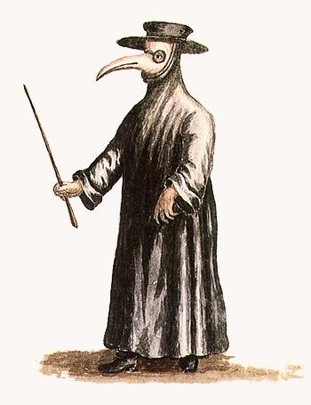 Maschera del medico della peste.