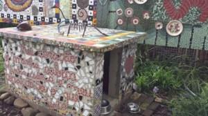 La dimora variopinta di mosaici, Caminho das Serpentes, Morro Reuter