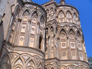 Duomo di Monreale. Zona absidale