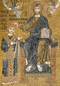 Guglielmo II incoronato da Cristo
