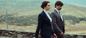Colin Farrell e Rachel Weisz camminano insieme