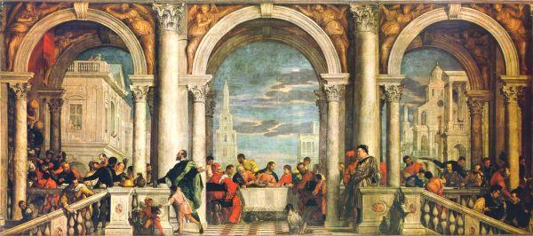 Convito in casa di Levi, Gallerie dell'Accademia, Venezia