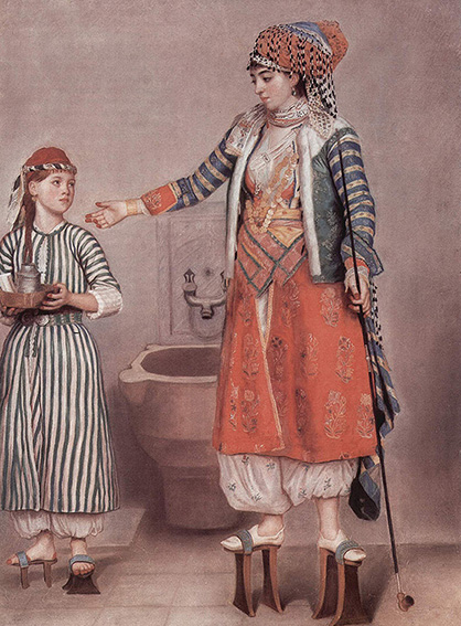 Jean-Étienne Liotard, Donna in costume turco, Ginevra, Musée d'Art d'Histoire