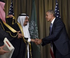 Re Salman d'Arabia e Barack Obama