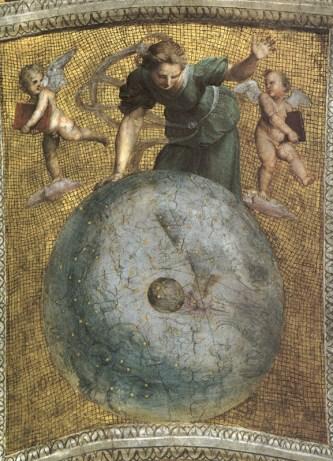 Raffaello, L'astronomia, Stanze vaticane, Roma