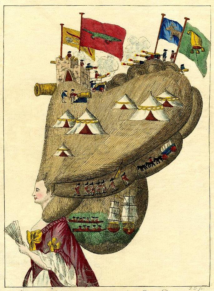 Matthew Darly,  caricatura