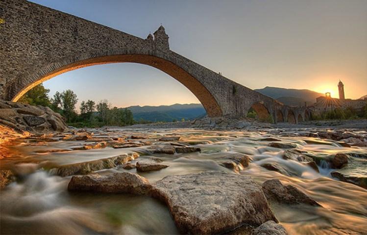 Ponte del diavolo o ponte Gobbo, Bobbio