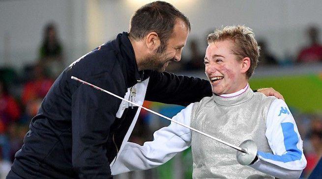Bebe Vio e le sue lacrime di gioia dopo l'oro olimpico