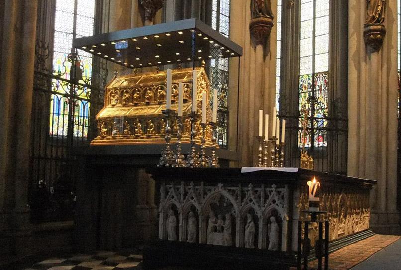 Reliquiario dei Magi, Duomo di Colonia