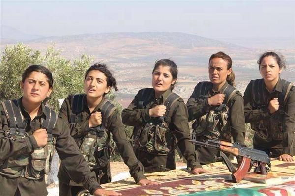 Combattenti Peshmerga