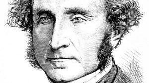 Ritratto di John Stuart Mill