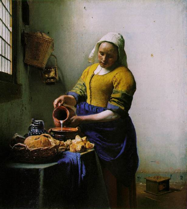 La lattaia, Rijksmuseum, Amsterdam