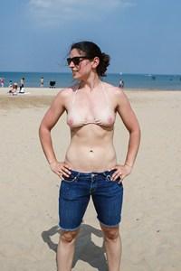 Nipple bikini