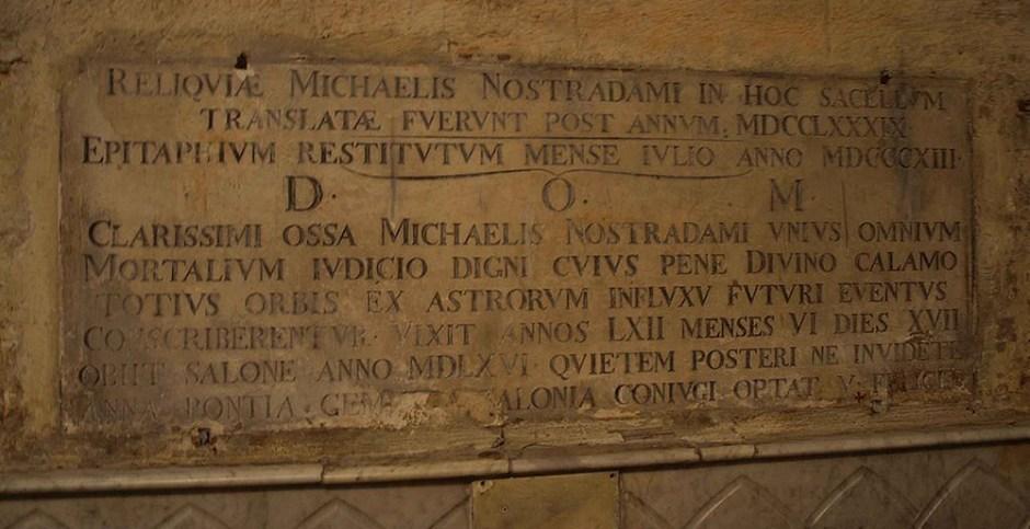 Tomba di Nostradamus