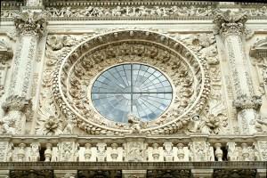 Rosone della basilica di Santa Croce, Lecce