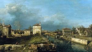 Canaletto, il quartiere del Portello a Padova