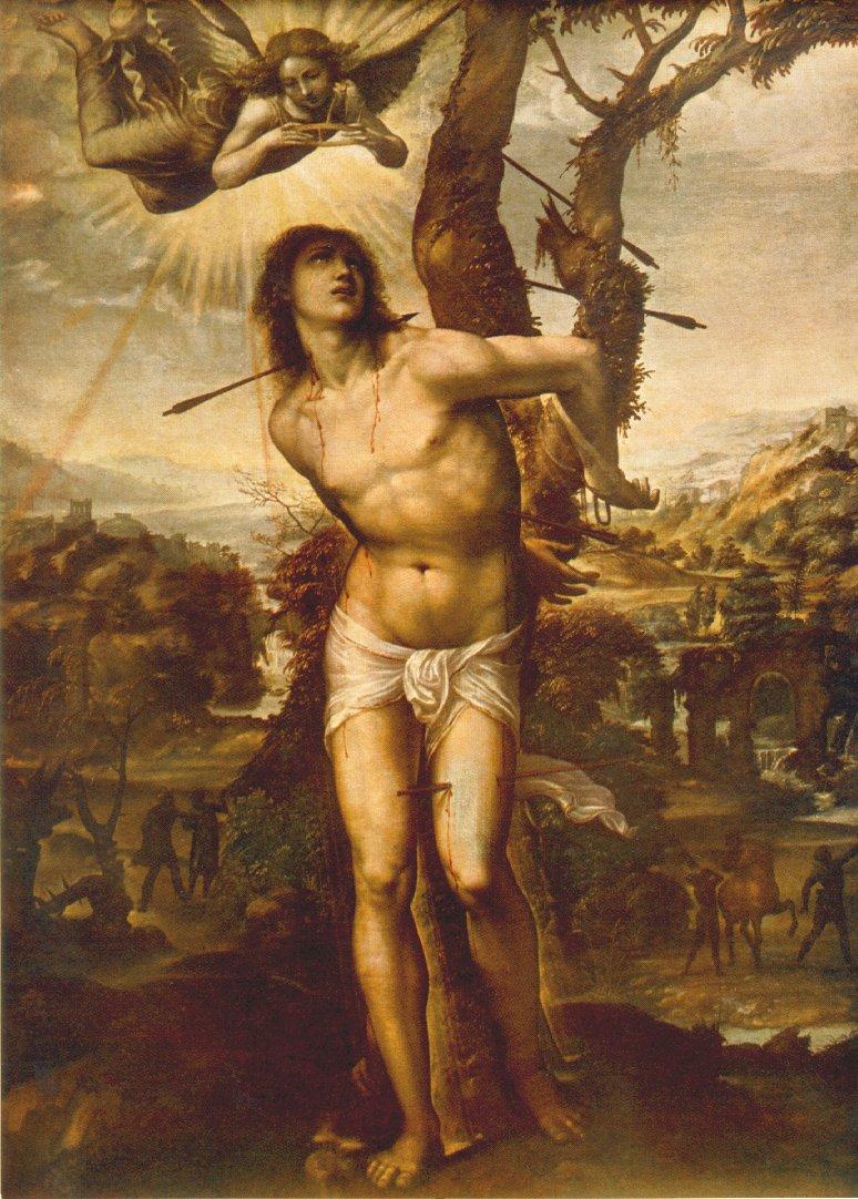Antonio Bazzi detto Il Sodoma, Galleria di Palazzo Pitti, Firenze