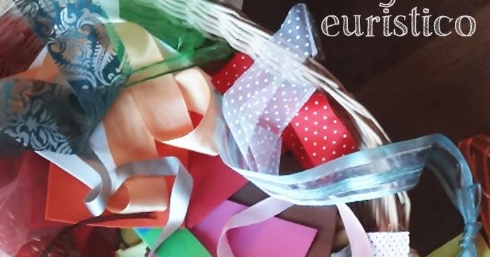 Gioco euristico e cesto dei tesori montessori con nastri e stoffe_come fare_by diaryofagraphiteaddicted