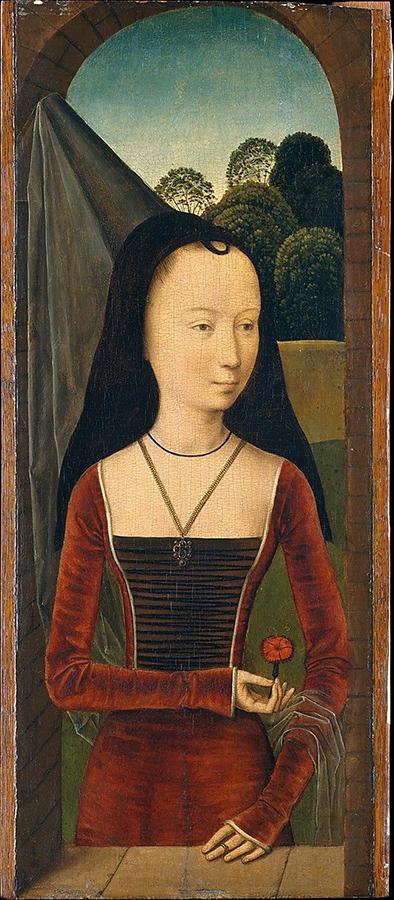 Hams Memling, Ritratto di giovane donna