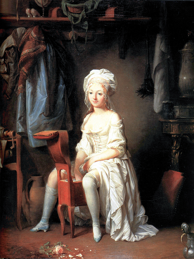 Louis Leopold Boilly, La toeletta intima