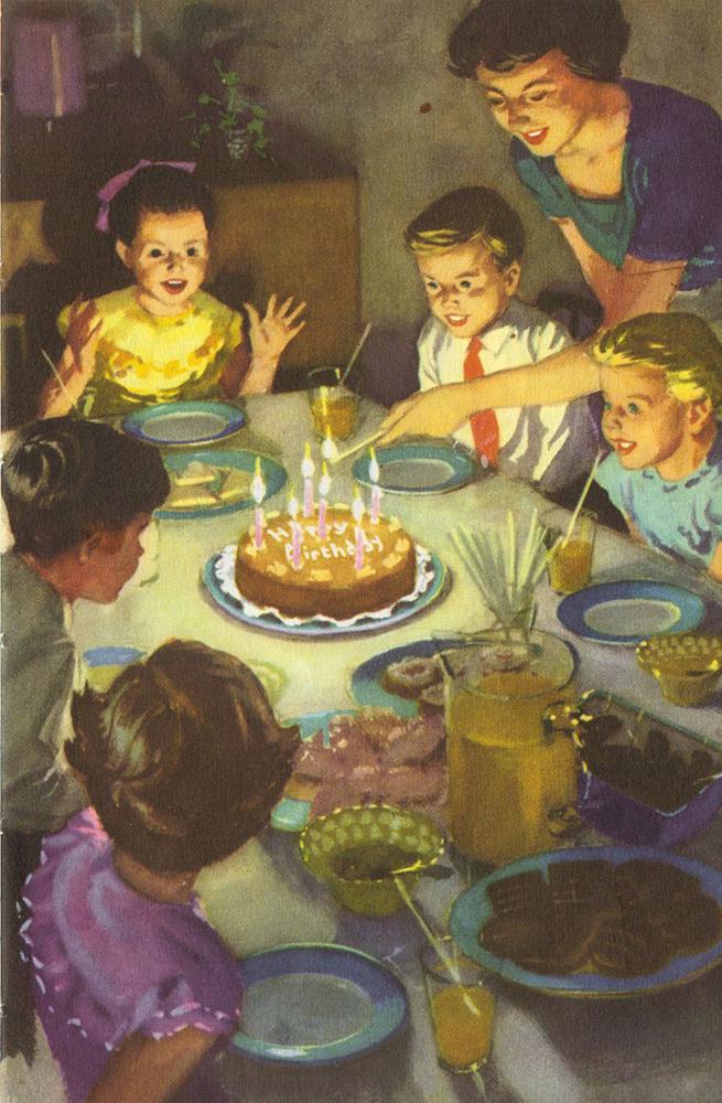 Cartolina di compleanno americana