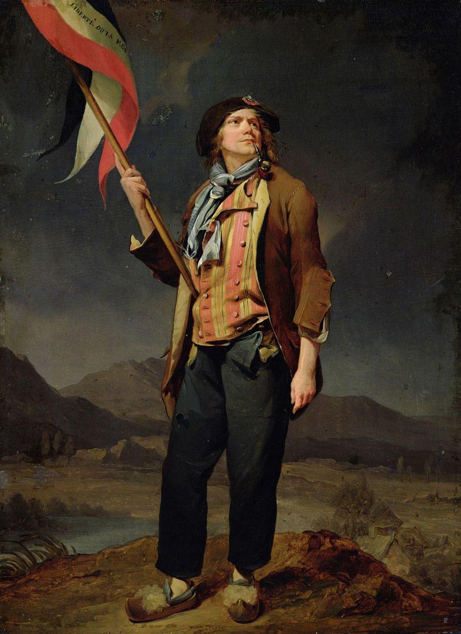 Louis Léopold Boilly, ritratto dell'attore Chenard in abiti da sanculotto