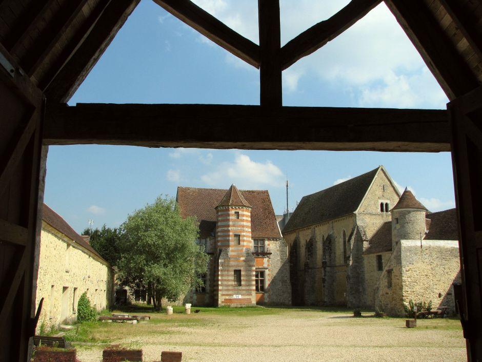 Commenda templare a Coulommiers dopo il restauro