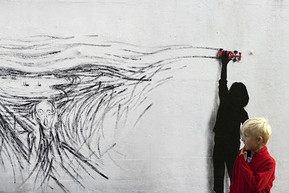 Drift-Street-Art-by-Pejac-at-Nuart-in-Stavanger-Norway.-A-tribute-to-norwegian-Edvard-Munch-1