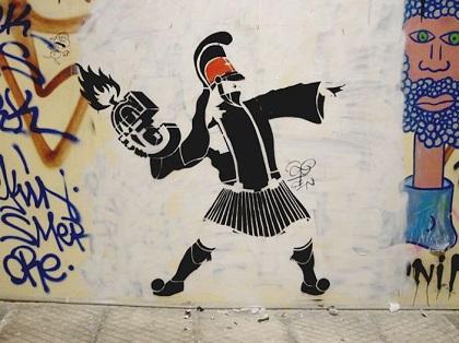 street art athens sparta