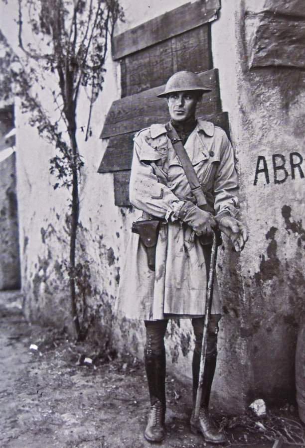 Gary Cooper col trench nel film il sergente York