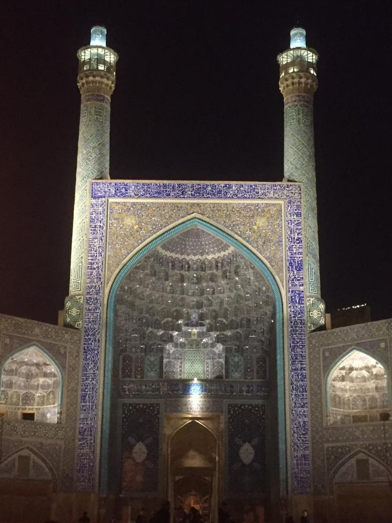 Masjed-e Imam (Imam Mosque), Isfahan, Iran. Foto di Rodolfo Amato.