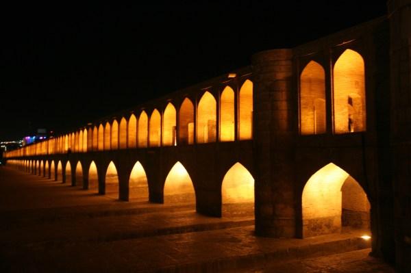 Ponte Si-o-se POL, Isfahan, Iran. Foto di Rodolfo Amato.