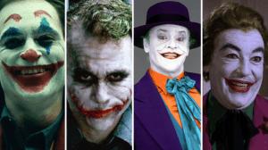 Buona parte dei volti cinematografici del Joker