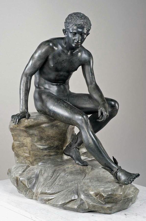 Hermes in riposo, da Ercolano