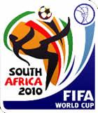 Il logo del Campionato del Mondo 2010 di calcio in Sudafrica