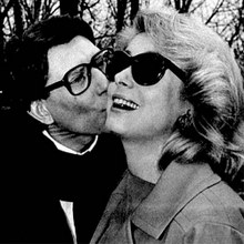 yves saint laurent et catherine deneuve