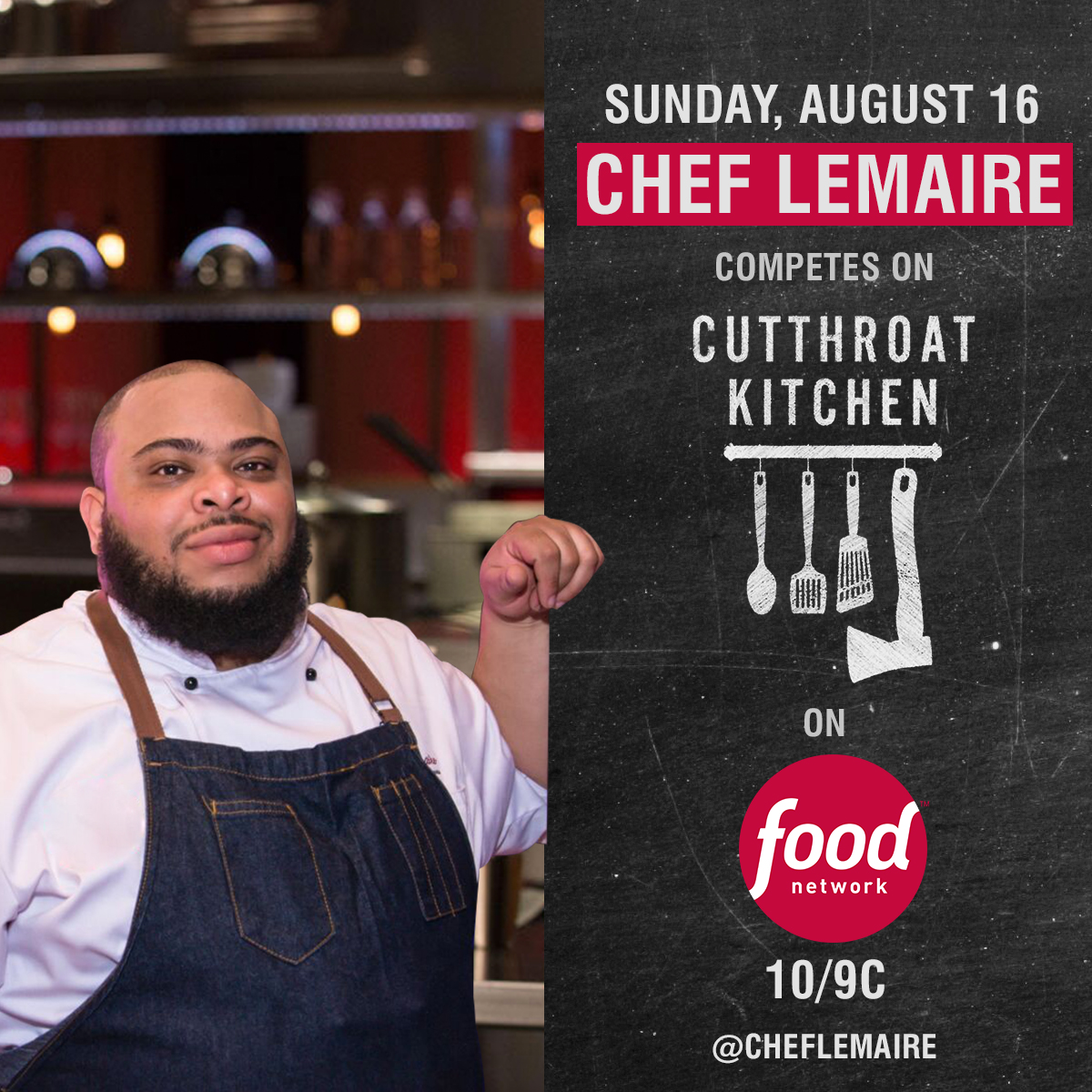 Haitian Chef Lemaire to Compete on Cutthroat Kitchen ...