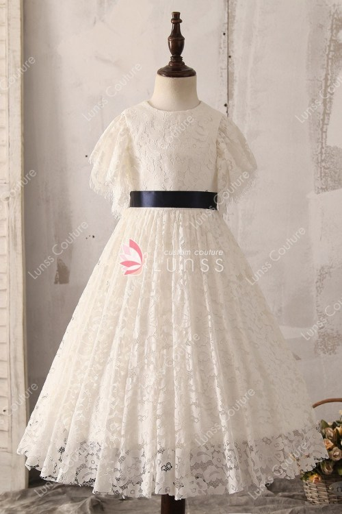 Medium Of Lace Flower Girl Dresses