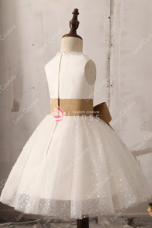 Medium Of Lace Flower Girl Dresses