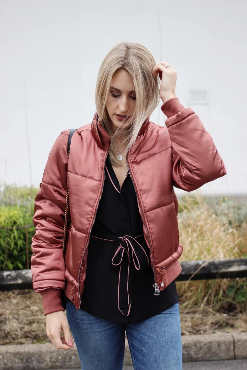 The Topshop Puffer Jacket