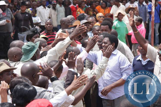 UPND President Hakainde Hichilema pledges an end to abuses of Public Order Act