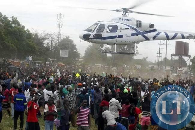 End of Choma Rally