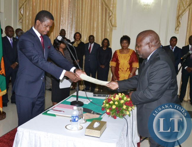 Lucky Mulusa gets State House job