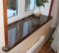 Window Designs, Modern Interior Window Sill Materials and ...
