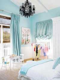Light Blue Bedroom Colors, 22 Calming Bedroom Decorating Ideas
