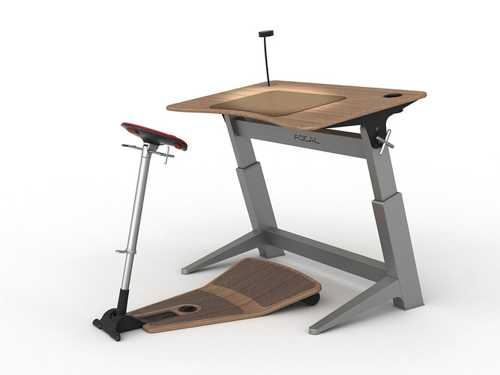 Reinventing Office Desks And Chairs To Improve Health