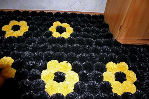 Plastic Bag Recycling For Floor Mats Two Creative