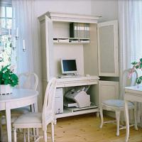 Small Home Office Cabinets Enhancing Space Saving Interior ...