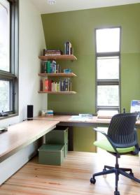30 Corner Office Designs and Space Saving Furniture ...
