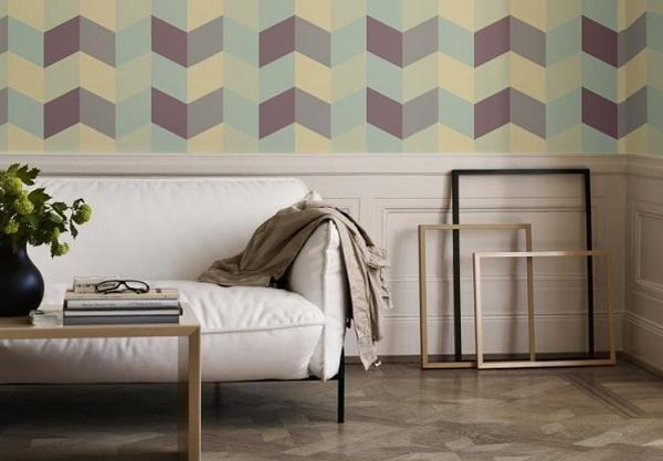 Gorgeous Fall Wallpaper 30 Modern Ideas To Add Geometric Elements To Interior